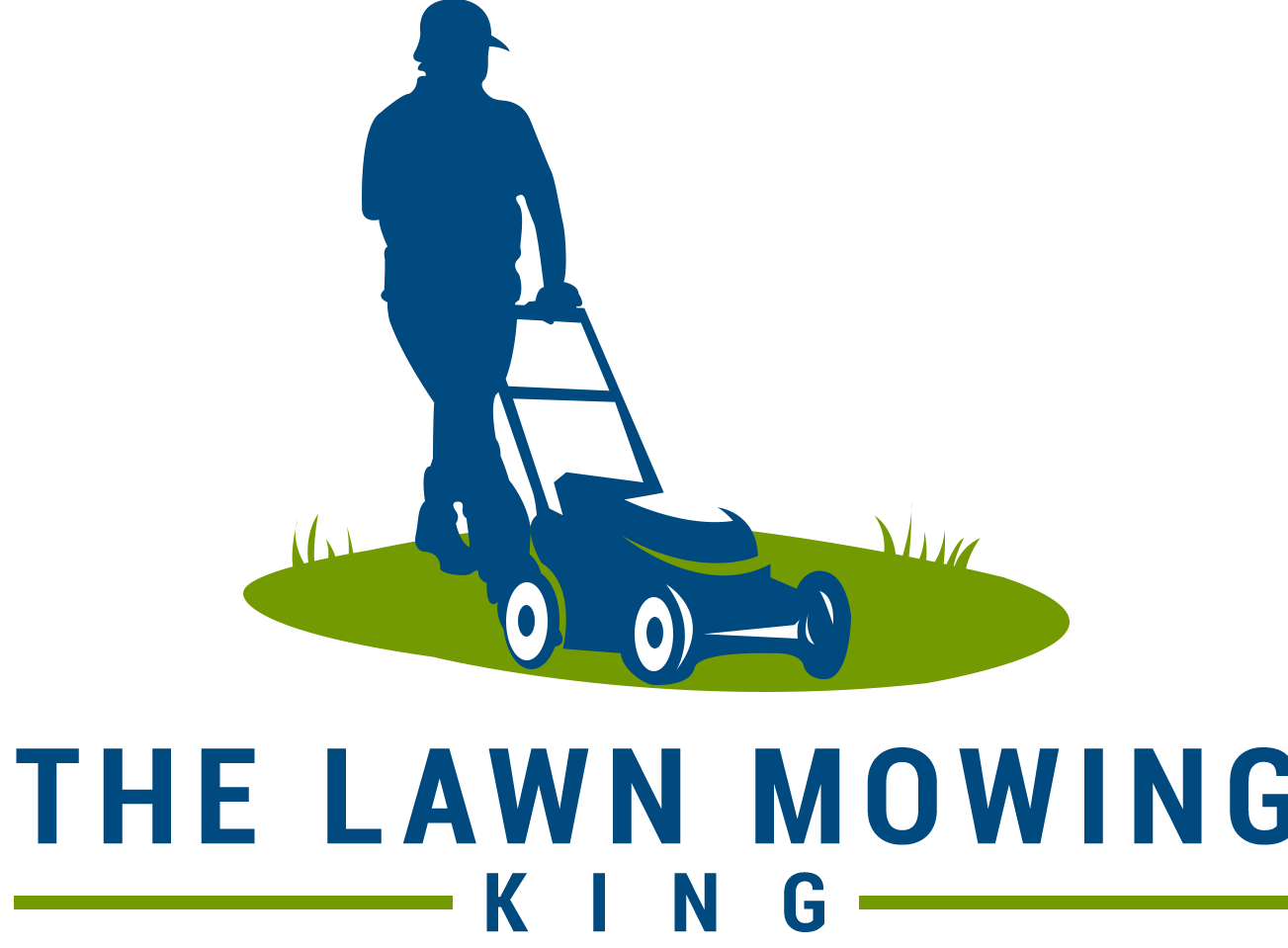 The Lawn Mowing King