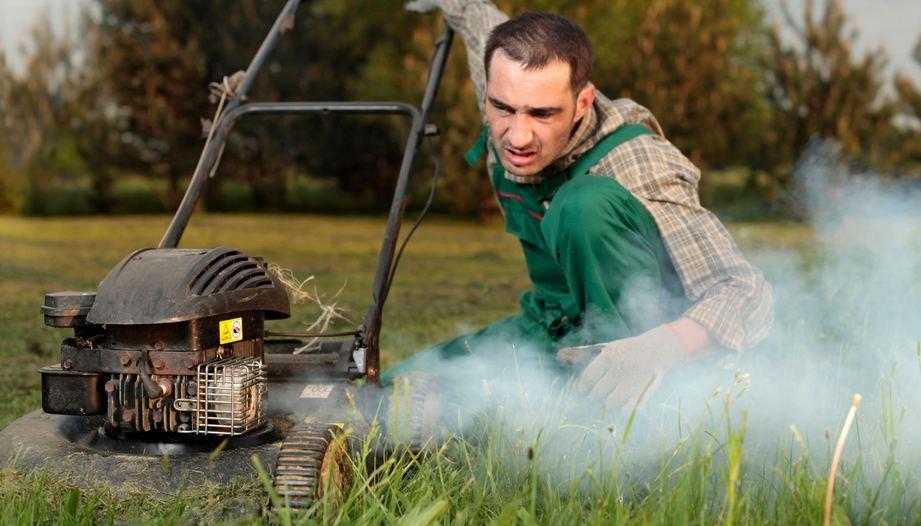Sputtering Lawn Mower